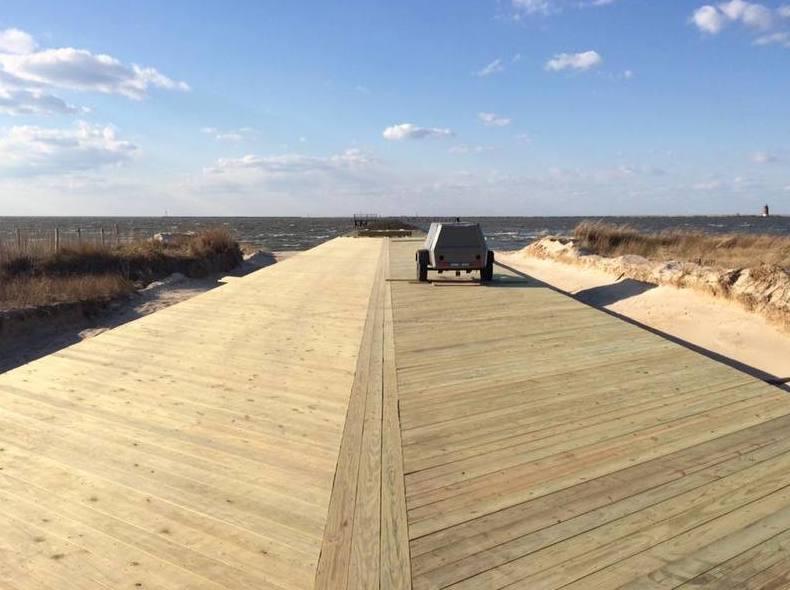 Delaware 105 9 reminder cape henlopen fishing pier to for Cape henlopen fishing report